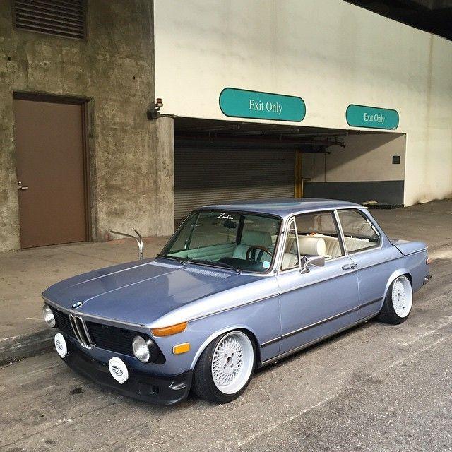 76 Bmw 2002 Modified: Stanced BMW 2002 Tii