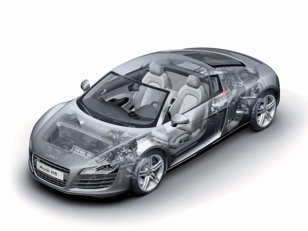 audi r zero concept car wallpaper