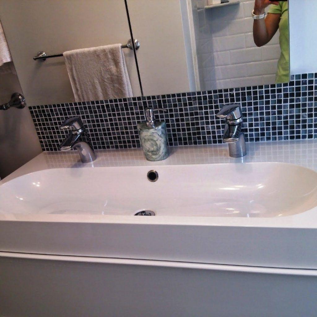 Double Undermount Trough Bathroom Sink Trough Sink Bathroom Bathroom Faucets Sink [ 1024 x 1024 Pixel ]