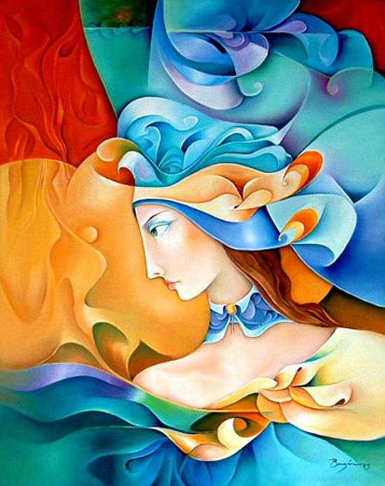 Brightness and vivid colors in paintings by Orestes Bouzon - ego-alterego.com