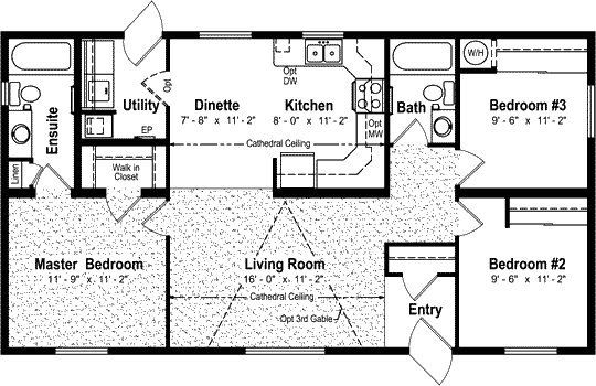 Floor plan 25 x 40 rental pinterest house tiny for 40 x 40 apartment plans