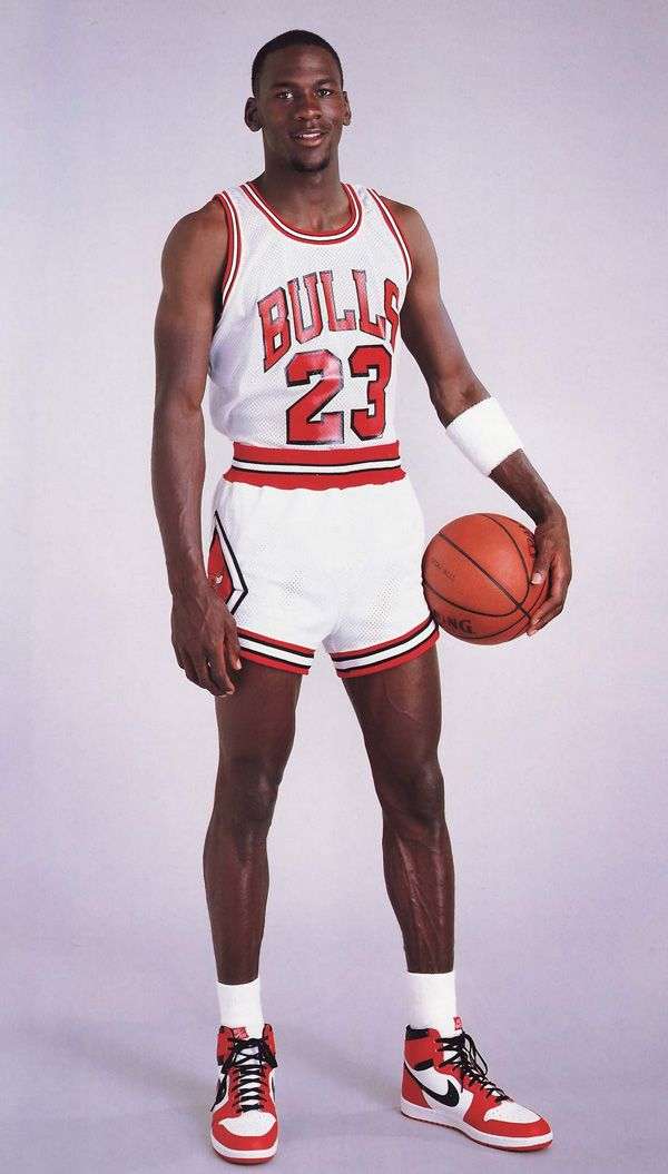 timeless design 3f21d 11531 Michael Jordan (1985)