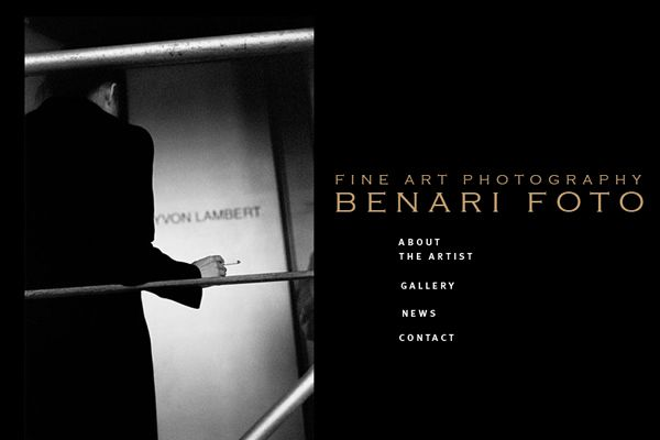 Michael Benari - Fine Art Photographers websites Fine Art