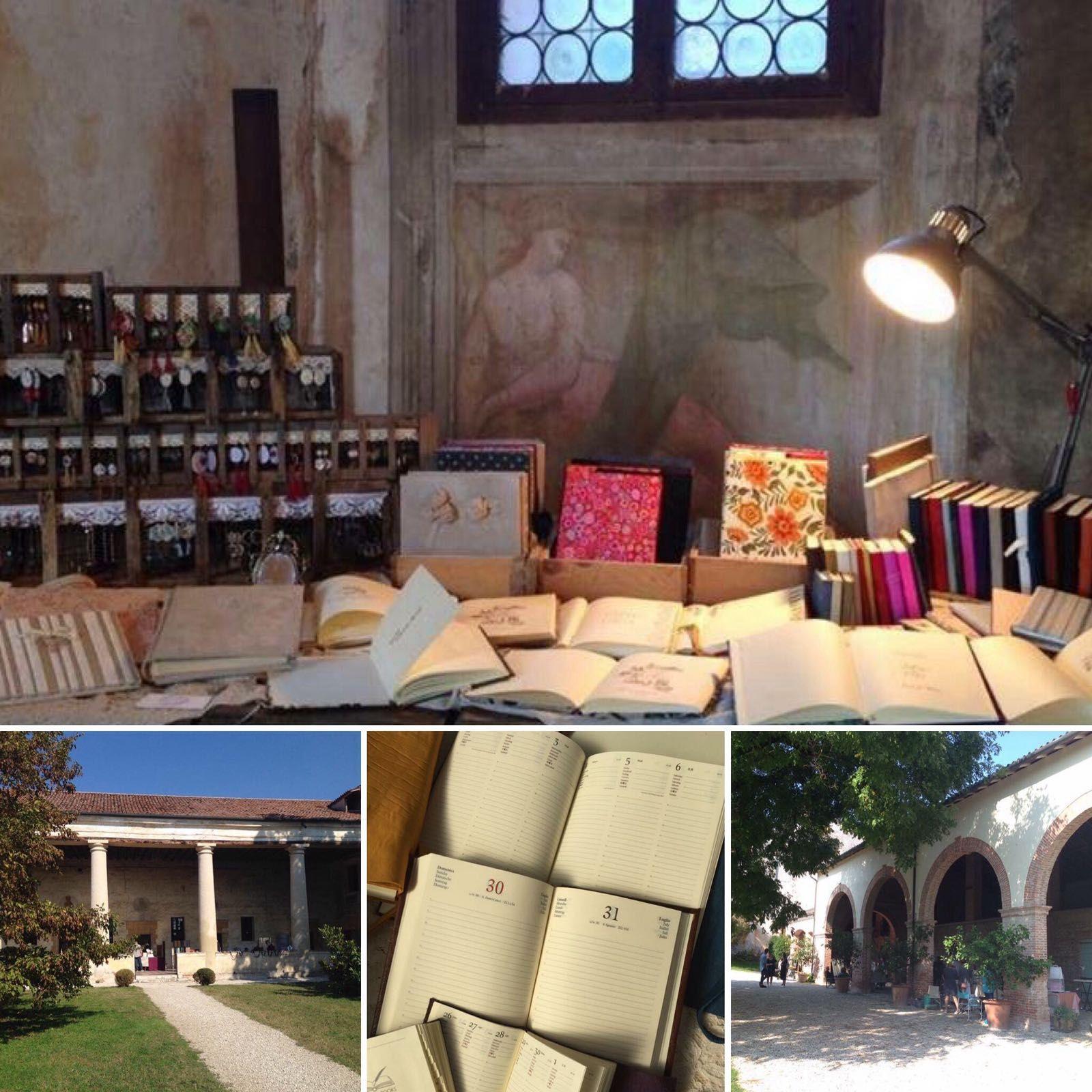 Villa Sesso Schiavo (VI) una bellezza palladiana che ospita #lizziemargherita #handmade #madeinitaly #picoftheday #bookbinder #palladio #eventisettembre #2016 #italy #impressionidisettembre