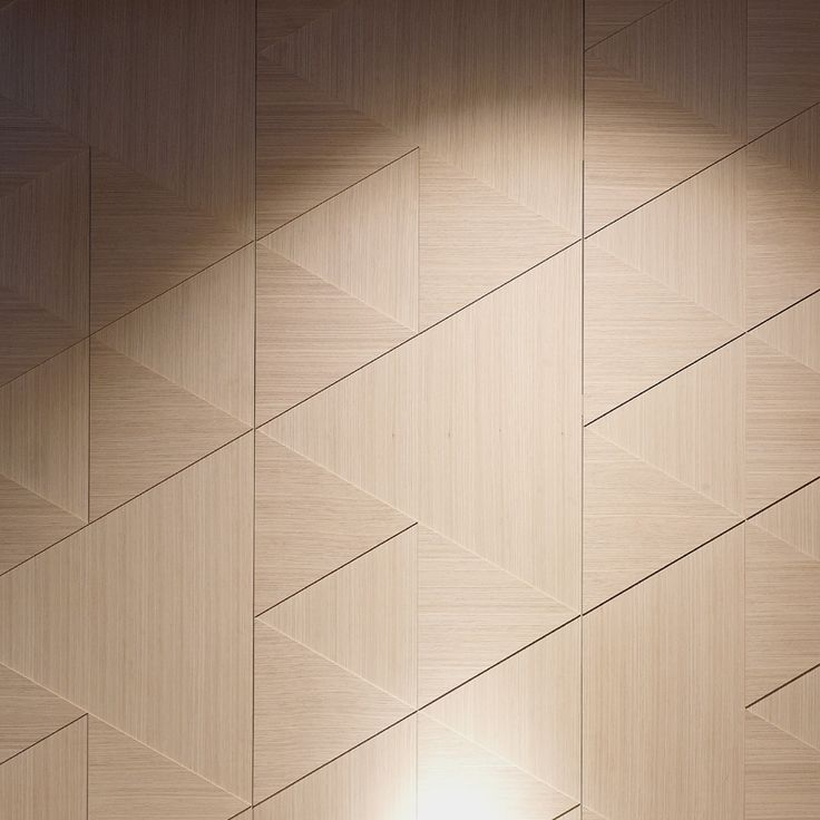 Triangle Wall Wood Wall Cladding Wall Paneling Wall Design