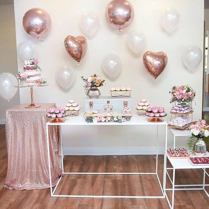 907776c0e06 Simples decorações de noivado e casamento com balões .  casamentos  casais   amor  paixao  noivos
