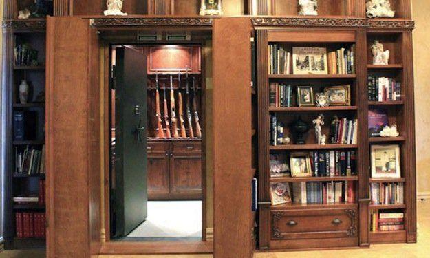 25 ideas de habitaciones secretas que te harán creer que estás dentro de una película de 007 9