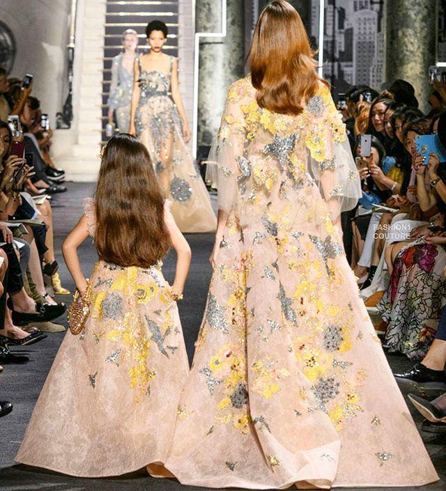 #eliesaab #fall2016 #couture #fashionweek #hautecouture