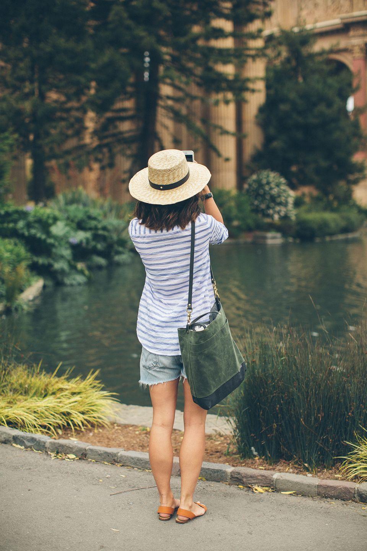 Summer Stripe Katherine Shirt   Taylor Stitch