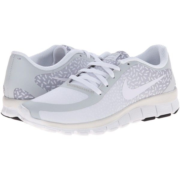 Nike Free 5.0 V4 (Pure Platinum/White/White) Women's Shoes ($50