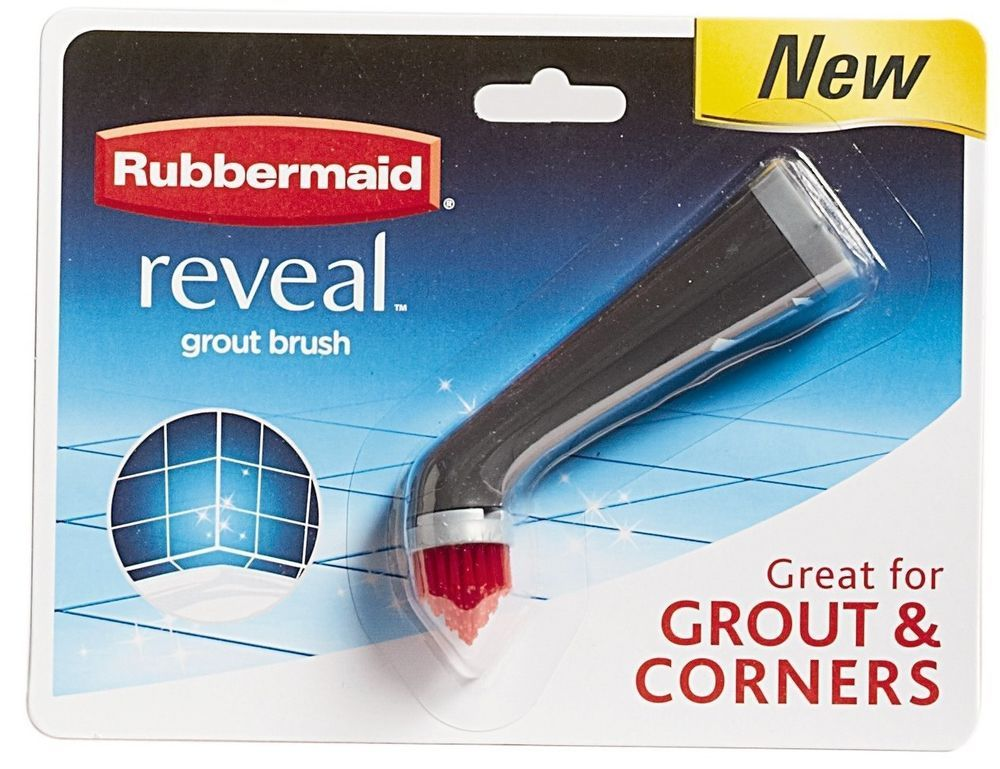 Rubbermaid Reveal Power Scrubber Scrub Brush Cleaning Supplies