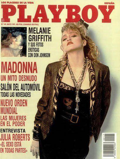 Pin by Leviatha9 on Madonna Scrapbook | Playboy, Madonna ...