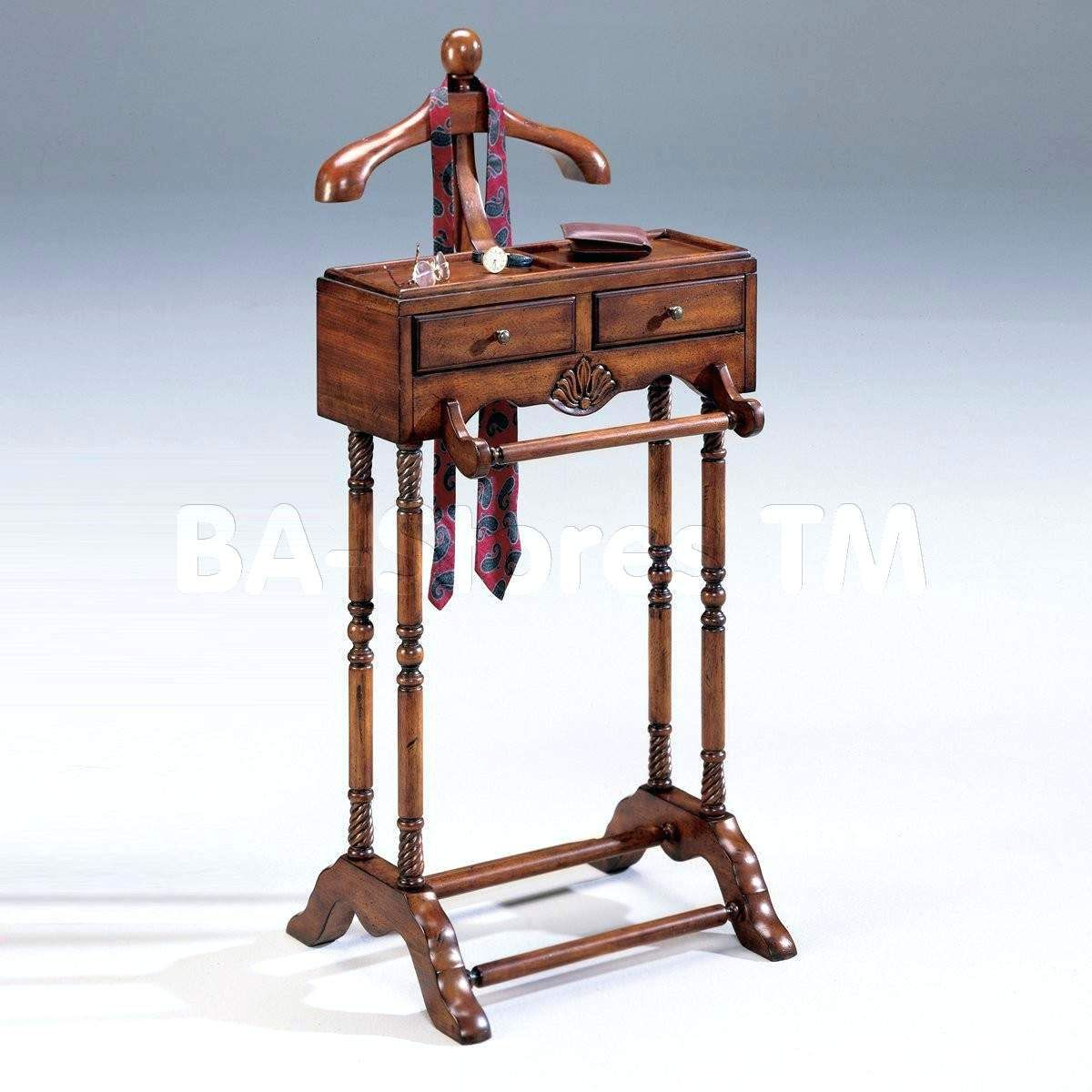Antique Coat Rack Chair Valet Box Stand Vintage Clothes John Butler Bedroom  With Charger Amazon Suit