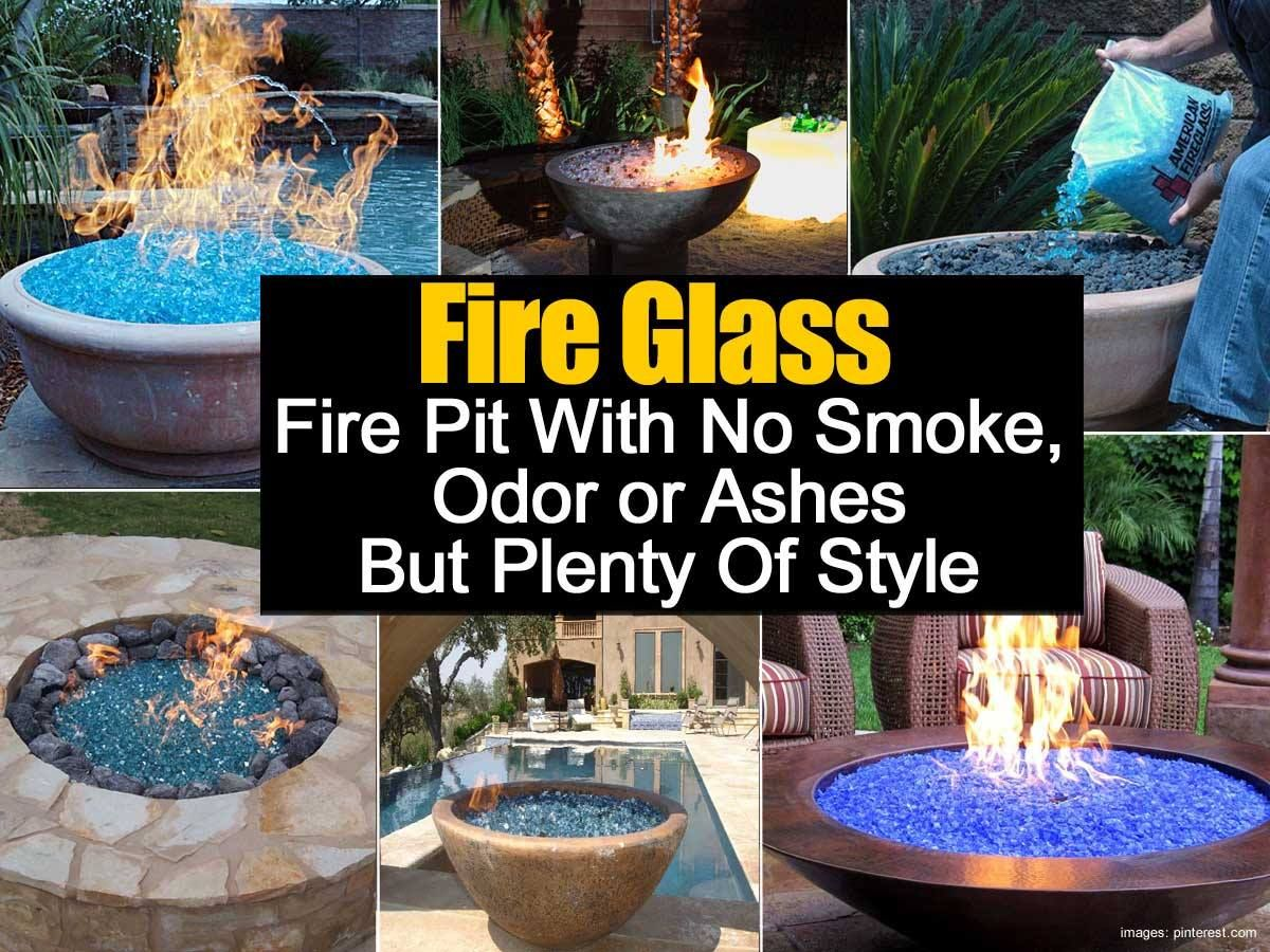 Fire glass fire pits projects to try pinterest glass fire pit