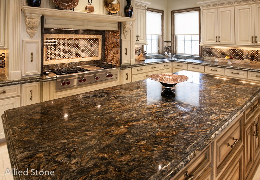 Kitchen Island Material Multicolor Onyx
