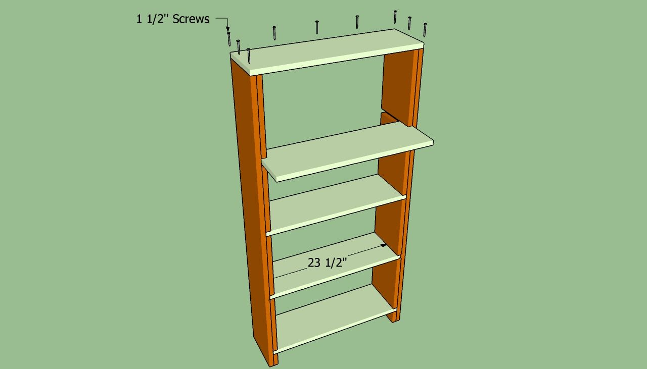 Building Built In Bookshelves On The Wall