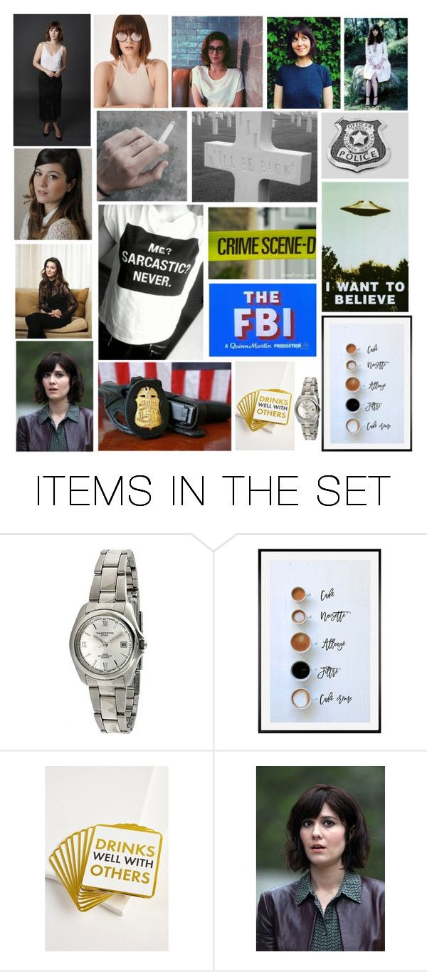 """Agent Barbara ""Bobby"" Anne Walsh (Criminal Minds)"" by charlieannelines ❤ liked on Polyvore featuring art"