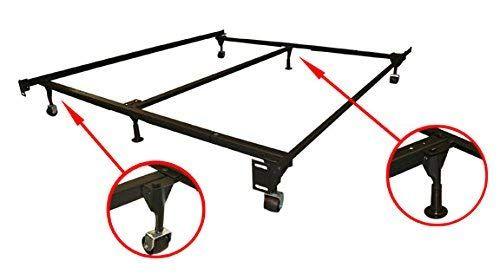 Best Gtu Furniture Adjustable Steel Metal Bed Frame For Box 400 x 300