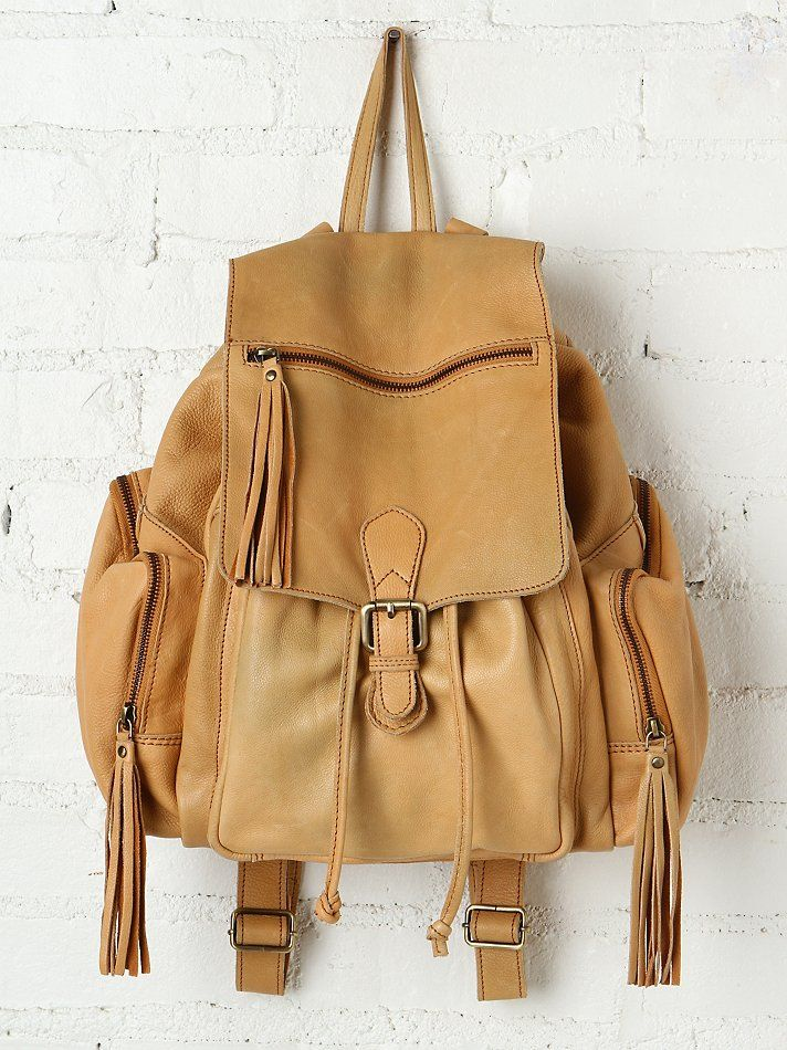 Cut n Paste Harper Leather Backpack at Free People Clothing Boutique