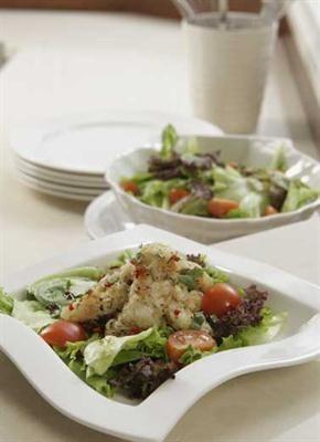 Salad Cumi Zaitun Makanan Salad Seafood Resep Ikan