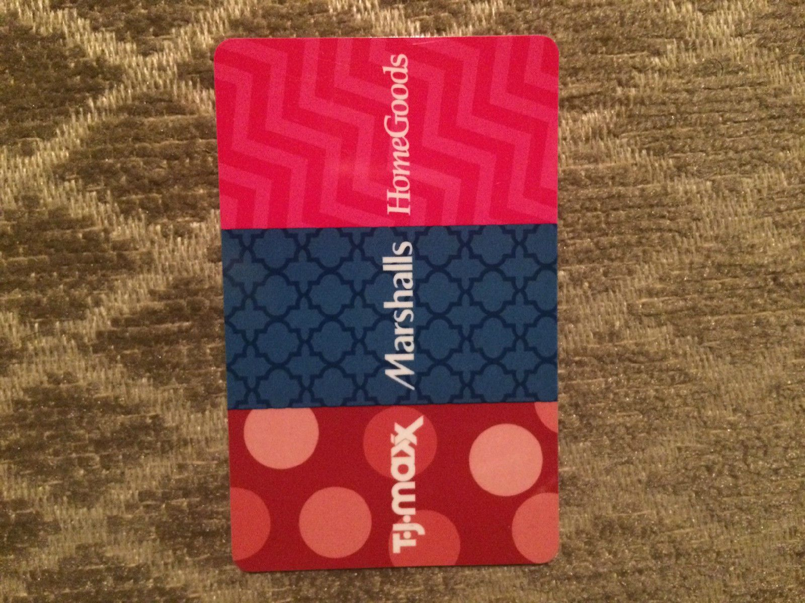 Coupons giftcards tj maxx marshalls homegoods gift