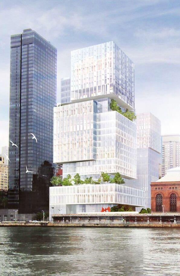540 East 74th Street 127m 416 Ft 22 Fl Perkins Eastman Architects Architecture Building Skyscraper Architecture Futuristic Architecture
