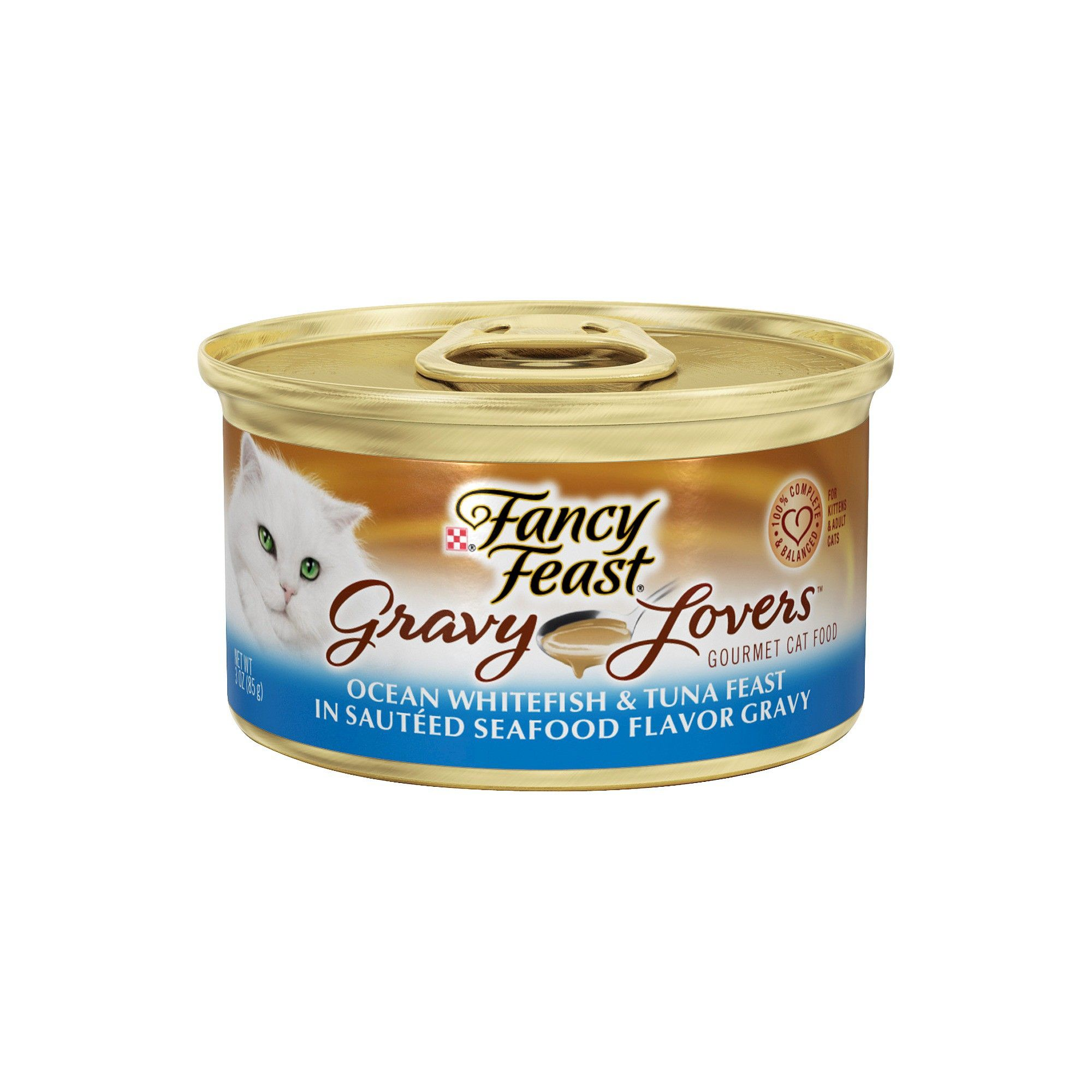 Purina Fancy Feast Gravy Lovers Ocean Whitefish & Tuna