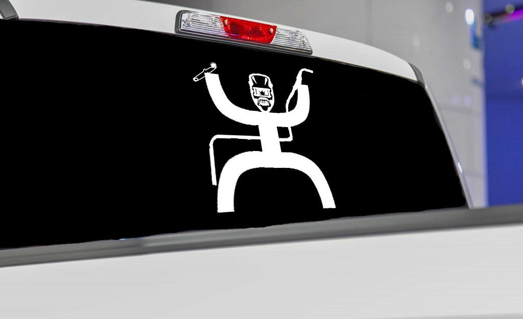 Hooey Welder Inspired Car Vinyl Decal / Car Decal / Cowboy Sticker ...