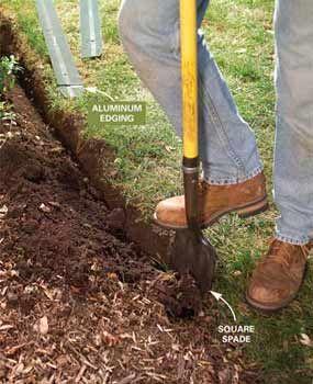The Best Garden And Lawn Edging Ideas Tips Garden Beds 640 x 480