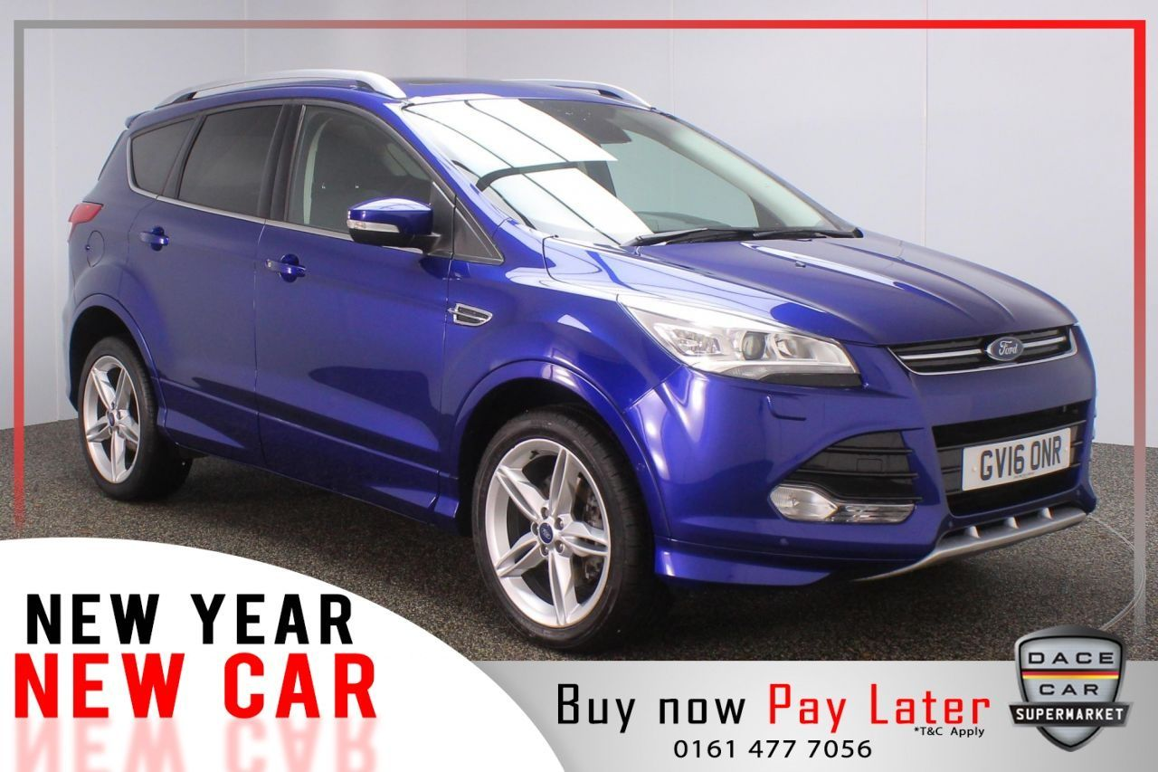 2016 Blue Ford Kuga Hatchback 1 5 Titanium X Sport 5dr Auto Heated