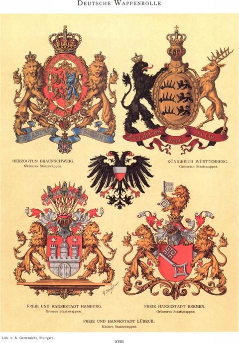 Hugo Gerard Strohl Wappen Bucher Shop Zeitgeschichte