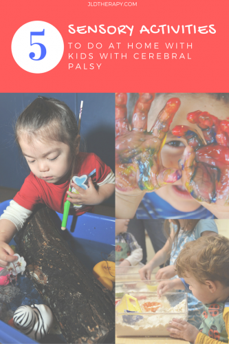 5 Sensory Activities To Do At Home With Cerebral Palsy Worksheets