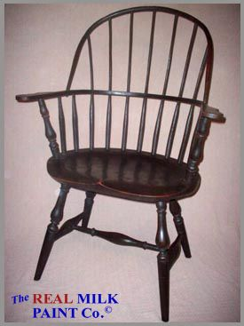 Reproduction Colonial Furniture Using Milk Paint