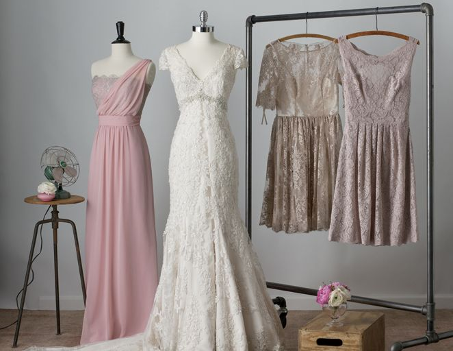 How To Match Your Bridesmaid Dresses Wedding Gown