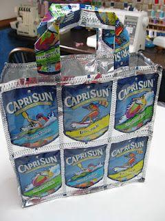 A Capri Sun tote bag!