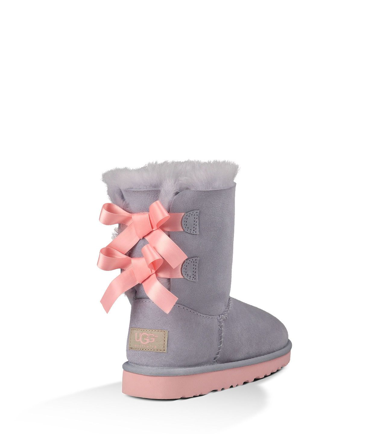 3a30906fd99 UGG® Bailey Bow heathered lilac | Fashion Girls | Ugg boots, Bow ...