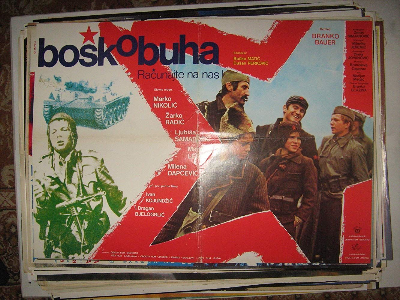 Bosko Buha (1978) Buy movies, Historical events