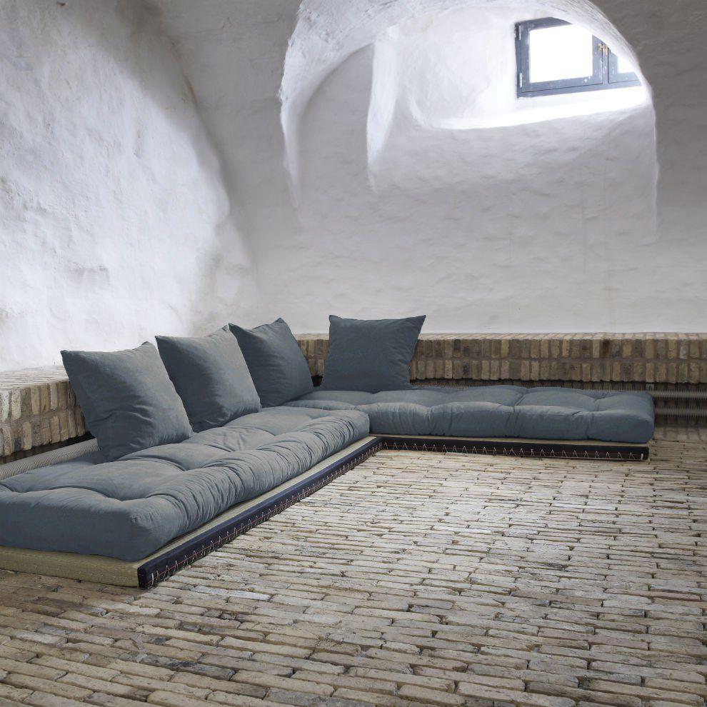 divano letto chico sofa karup con tatami e futon home