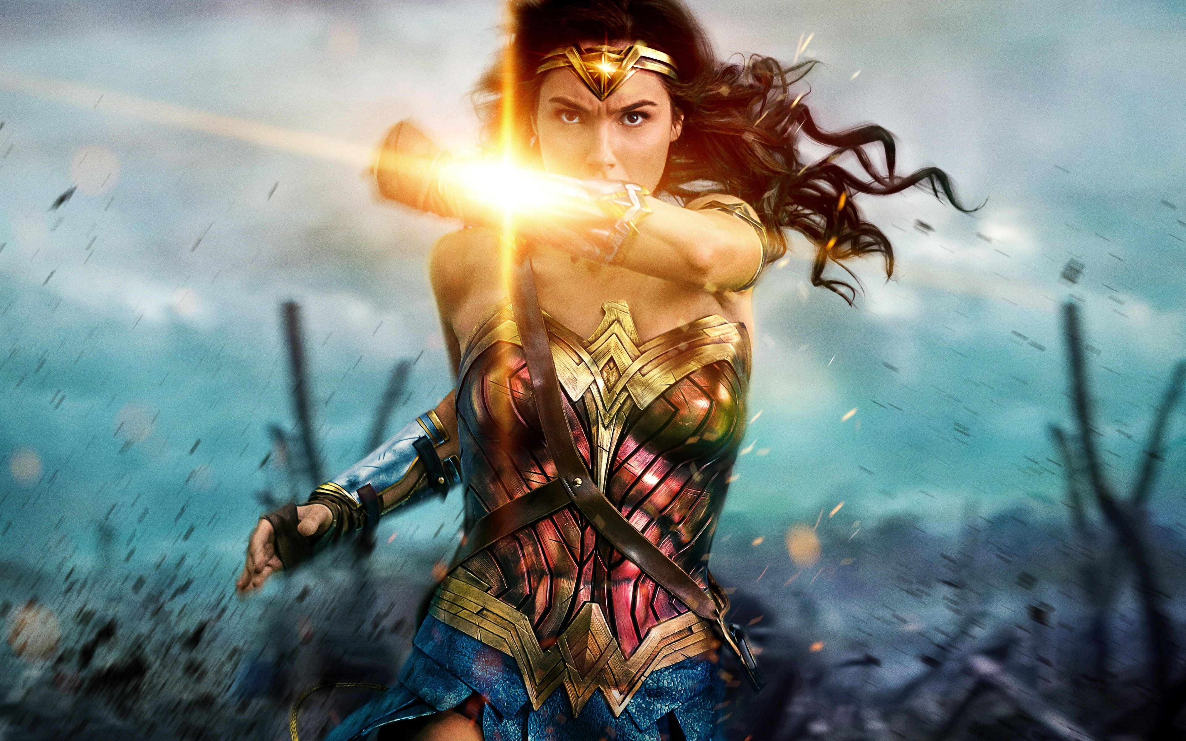 Wonder Woman Gal Gadot Movies 4k Wallpaper Hdwallpaper Desktop In 2020 Wonder Woman Comic Movies Girl Film