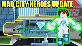 New Heroes And Jewelry Store Update Roblox Mad City Update And