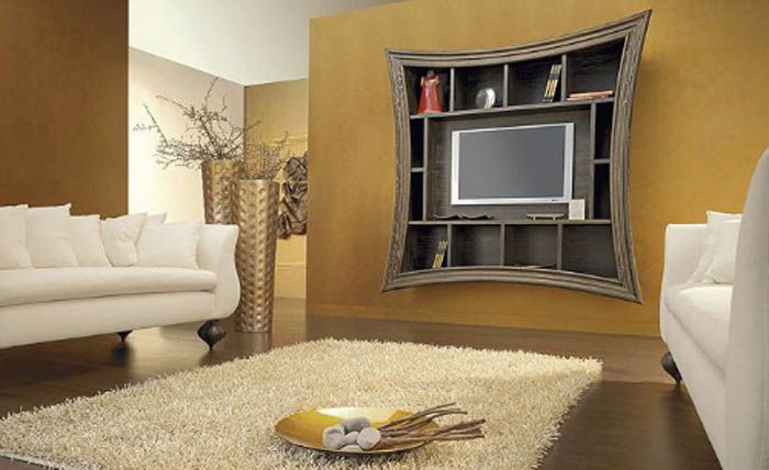 Wall Tv Design Ideas stone accent tv wall Tv On The Wall Ideas For Living Dining And Bedroom Large Tv On The Wall Ideas