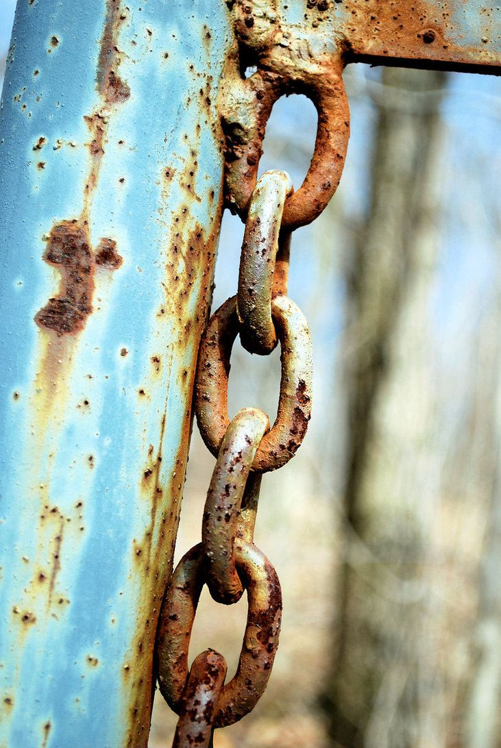 Rusty Chain by wildlyentertaining on DeviantArt