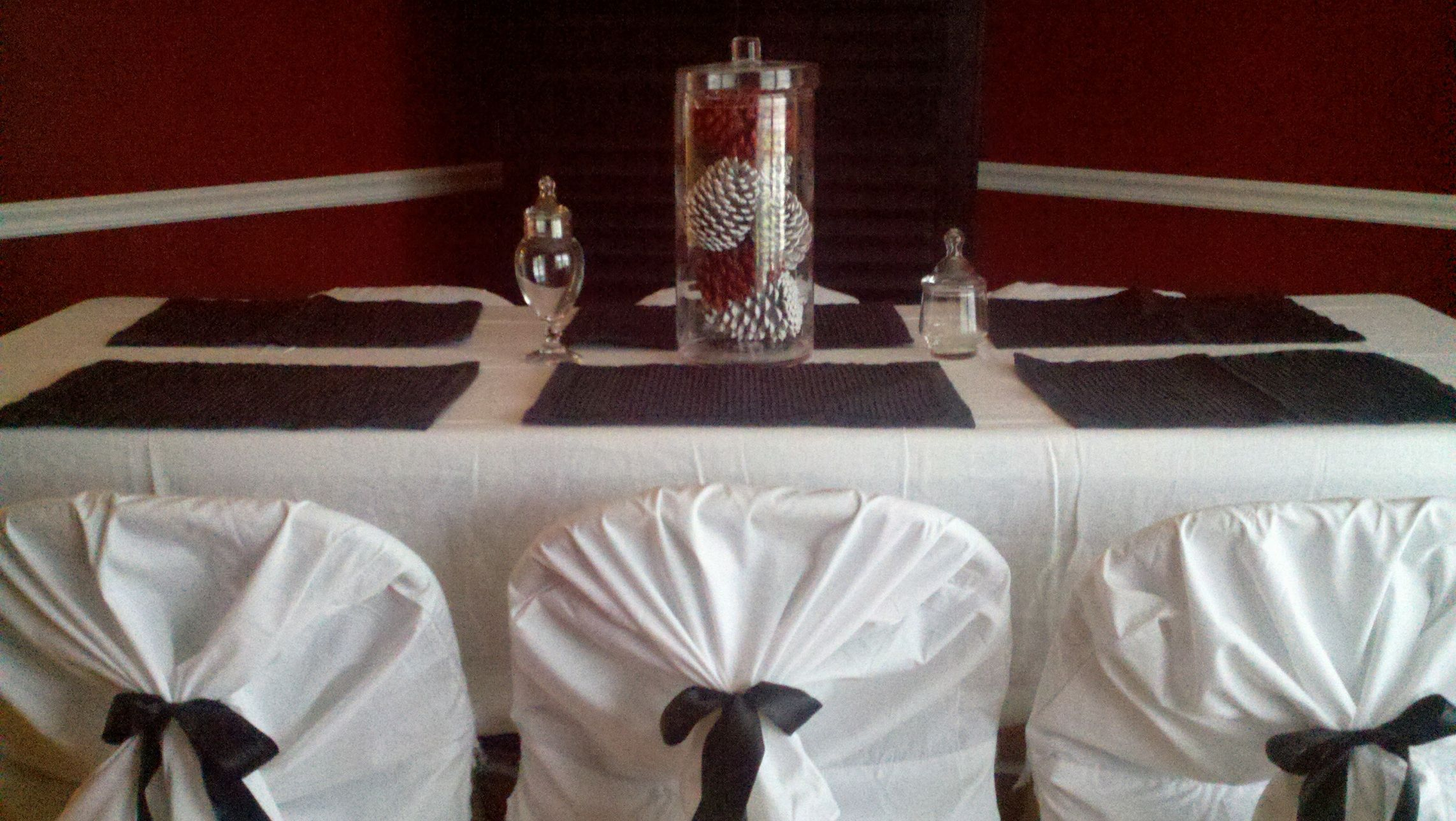 Pin by Valerie Carter on Entertaining  Diy chair covers, Fun easy