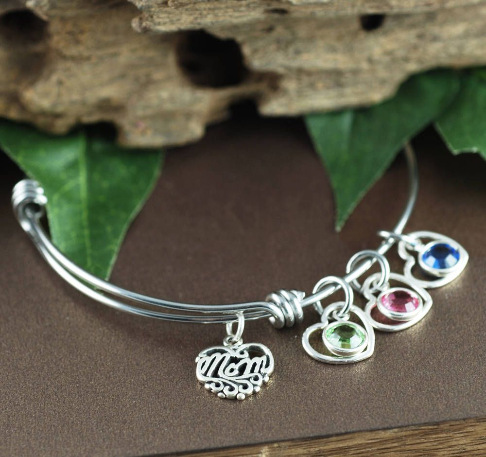 mom listing jewelry initial charm bangle bracelet lovers bangles pet fullxfull il opqb dachshund