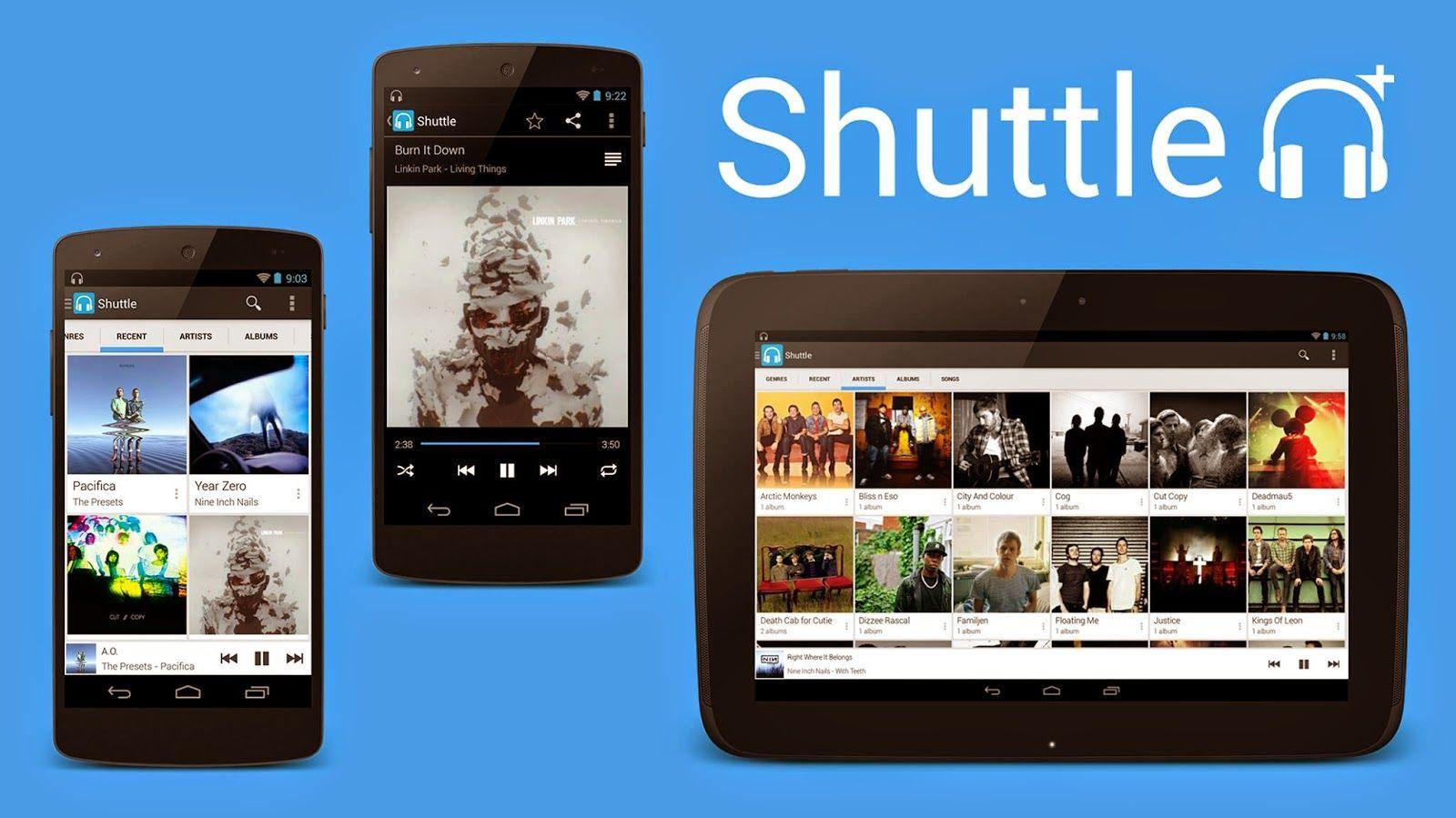 Shuttle+ Music Player v1.4.0 APK Free Download Musik