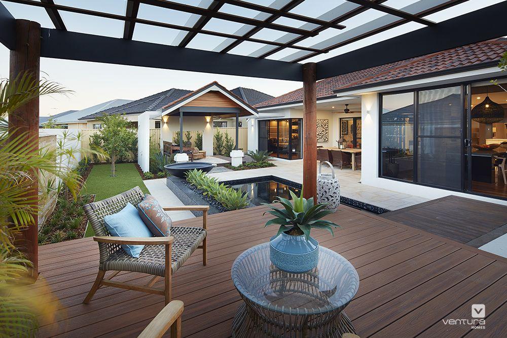 Display Home Garden Design