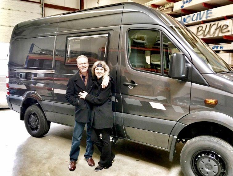 Visiting CS Reisemobile in Germany to finalise offroad