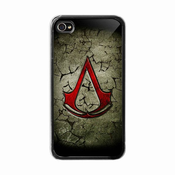 iPhone 4 /4s hard case  Creed assassin logo  Phone by BeeCase, $14.99