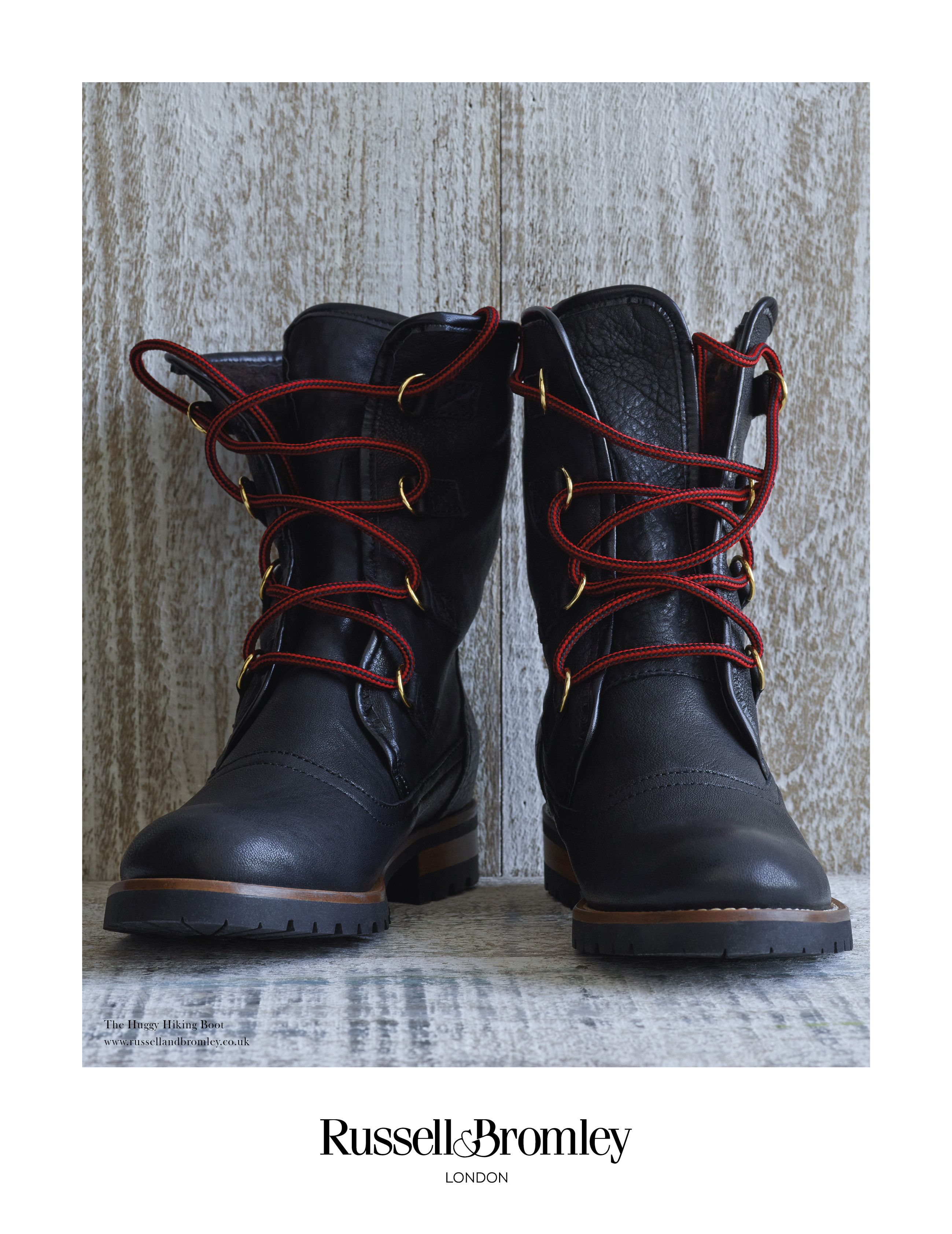 e31130b59bb Huggy - Black Leather   AUTUMN WINTER 16   Hiking boots, Boots ...