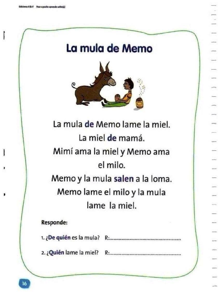 Pin By Fer On Educacion Spanish Teaching Resources Social Skills Videos Spanish Reading [ 1125 x 844 Pixel ]